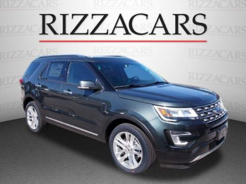 New 2017 Ford Explorer Limited with Navigation & 4WD