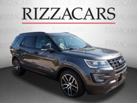 New 2017 Ford Explorer Sport with Navigation & 4WD